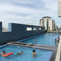 Photo taken at Pullman Swimming Pool Saigon by Egon T. on 12/31/2017