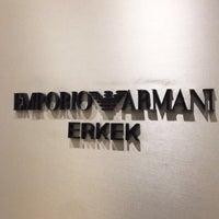 Photo taken at Armani by Berk K. on 12/22/2016