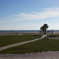 Photo taken at Ft De Soto Beach by Romily B. on 8/6/2014