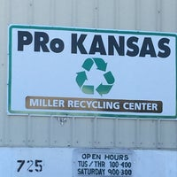 Photo taken at PRo Kansas / Miller Recycling Center by Ruth D. on 1/7/2017