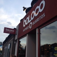 Photo taken at Boloco Cleveland Circle by Cameron N. on 5/19/2014