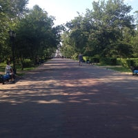 Photo taken at Сквер им. Дзержинского by Maria C. on 6/20/2015