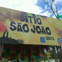 Photo taken at Sítio São João by Vitor R. on 6/29/2013