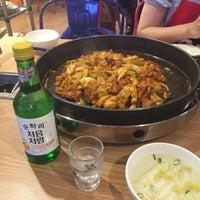 Photo taken at 백종원의 철판요리 전문점 철판 by Ian C. on 5/28/2015