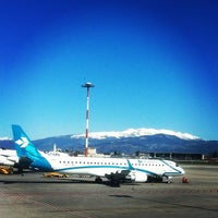 """Photo taken at Aeroporto di Verona """"Valerio Catullo"""" (VRN) by Anna V. on 3/21/2013"""