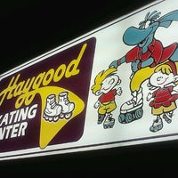 Photo taken at Haygood Skating Center by Alesia W. on 1/6/2013