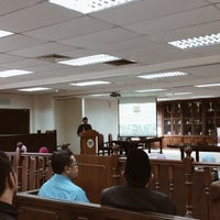 Photo taken at Moot Court by Raihanah A. on 12/20/2017