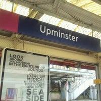 Photo taken at Upminster Railway Station (UPM) by Shaun K. on 3/15/2013
