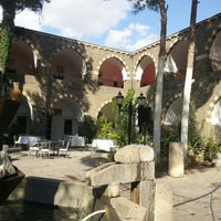 Photo taken at Hotel Büyük Kervansaray by Ebru K. on 9/28/2013