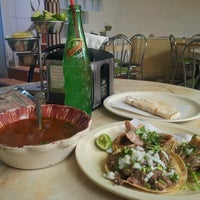 Photo taken at El Rey Del Suadero by Javier T. on 5/18/2013