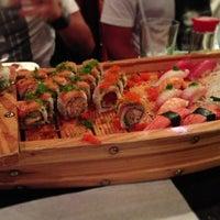 Photo taken at Amura Japanese Restaurant by DJ d. on 4/2/2013