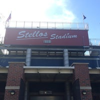 Photo taken at Stellos Stadium by Troy T. on 6/2/2014