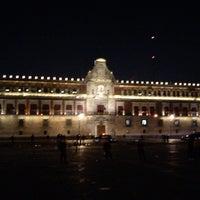 Photo taken at Plaza de la Constitución (Zócalo) by Beto M. on 3/30/2013