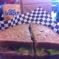 Photo taken at Husky Deli by Karen S. on 4/3/2013