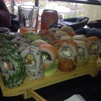 Photo taken at SUSHI CLUB by Claudio C. on 10/1/2013
