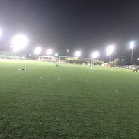 Photo taken at Third Street Football Field by Wesam K. on 2/5/2018