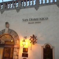 Photo taken at San Domenico Palace Hotel by J. Patrick B. on 5/22/2013