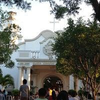 Photo taken at St. Jerome Emiliani & Sta. Susana Parish by Wendell V. on 3/17/2013