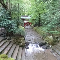 Photo taken at 彌彦神社 玉ノ橋 by 羽州草生津 辛. on 8/16/2018