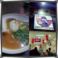 Photo taken at Ninja Ramen by seiji o. on 1/27/2013