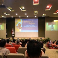 Photo taken at Perpustakaan by Dewi C. on 12/3/2014