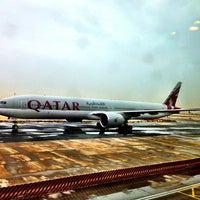Photo taken at Doha International Airport (DOH) مطار الدوحة الدولي by Fitri D. on 5/8/2013