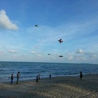 Photo taken at Pantai Batu Buruk by shasha_174 on 2/9/2013