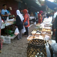 Photo taken at Pasar Kue Tradisional by Dewi A. on 1/4/2013