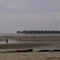 Photo taken at Bagan Lalang Beach by M a s t u R a on 1/1/2013