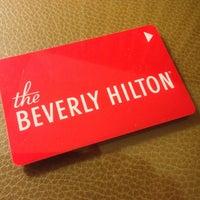 Beverly Hilton Hotel Room Service Menu