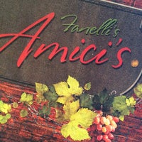 Photo taken at Amici's by Cindy H. on 3/23/2014
