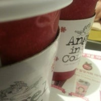 Photo taken at Angel-in-us Coffee by Daniel on 1/21/2013