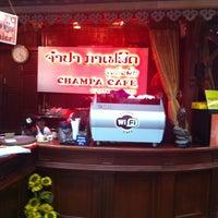 Photo taken at champa cafe by Thitinun B. on 12/20/2014