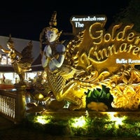 Photo taken at The Golden Kinnaree Buffet Restaurant by Steph on 10/23/2012