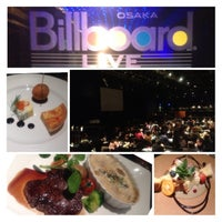 Photo taken at Billboard Live Osaka (ビルボードライブ大阪) by ガラガラ ば. on 3/1/2013