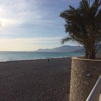 Photo taken at Passeggiata Bordighera-Vallecrosia by Gianguido F. on 10/31/2013
