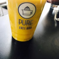 Photo taken at PURE Juice Bar by Daphne D. on 8/30/2017
