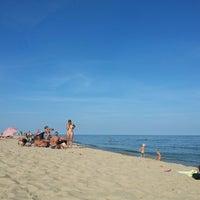 Photo taken at Пляж by Sasha P. on 8/22/2013