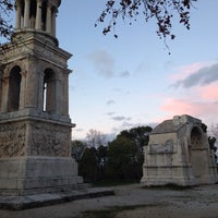 Photo taken at Glanum by Pierre-jean M. on 11/21/2015