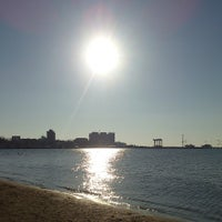 Photo taken at Central Beach by Maria L. on 3/9/2015