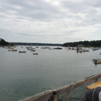 Photo taken at Muscongus Bay Lobsters by Eric S. on 8/26/2013
