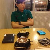 Photo taken at Joyeux Café by Jingying on 12/12/2014