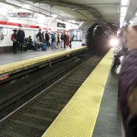 Photo taken at MBTA Park Street Station by John O. on 11/24/2012