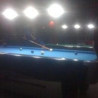 Photo taken at Gaol Billiard Pool & Lounge by Vano G. on 3/18/2013
