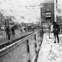 Photo taken at Трамвайная остановка «Метро «Сокол» by Evgeniy T. on 3/27/2017