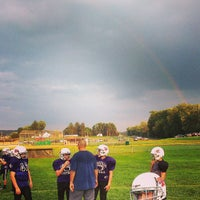 Photo taken at Keith Hackenberg Memorial Field by Fun Box B. on 8/13/2013