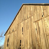 Photo taken at Tobacco Barn (Western Bend State Park) by Patrick K. on 11/21/2012