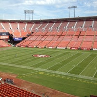 Photo taken at Candlestick Park by Patrick K. on 11/15/2012