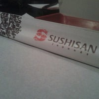 Photo taken at Sushi San by Andrei B. on 1/19/2013