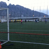 Photo taken at Xtreme Soccer by Aily R. on 1/30/2013
